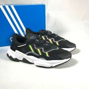 Size 6Y / Size 7.5 Women's adidas Originals Ozweego Sneakers EE7772 Black