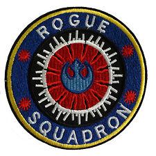 Star Wars - Rogue Squadron - Blau/Blue Logo - Patch Aufnäher zum Aufbügeln - neu