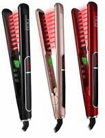 HTG Hair Straightener Flat Iron Ceramic IONIC Infrared MCH Heating Styling tools