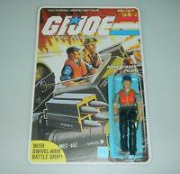 *RECARDED* 1984 GI Joe Cutter v1 Figure Complete Sealed *CUSTOM File Card Back*
