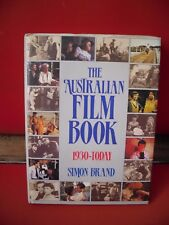 The Australian Film Book: 1930-Today by Simon Brand (Paperback, 1985) HB
