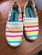 TOMMY HILFIGER Women's Casual Striped Slip-On Shoes Size 6M