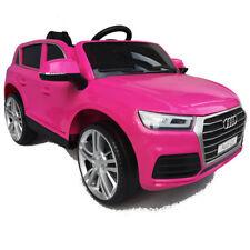 Der neue Audi Q5 quattro Kinderauto Kinderfahrzeug Kinder Elektroauto 12V Rosa