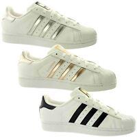 adidas Superstar Womens Trainers~Originals~UK 3.5 - 10.5 Only