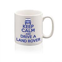 Keep Calm and Drive a Land Rover Personalised Printed Mug Ideal Gift Custom