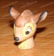 Porcelain Bisque Walt Disney Bambi Thimble Bust (Grolier Enterprises, 1988)