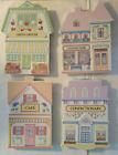 Lenox Villages Fine Porcelain Trivets Set of 4 MINT condition with Box and COA!
