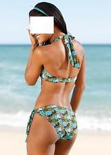 Markenlose Damen-Bikini-Sets mit Neckholder