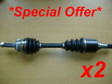 2x FORD SIERRA & ESCORT COSWORTH 4x4 UPRATED FRONT DRIVESHAFTS DRIVE SHAFT. NEW