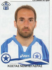 N°078 KOSTAS NEBEGLERAS ATROMITOS STICKER PANINI GREEK GREECE LEAGUE 2010