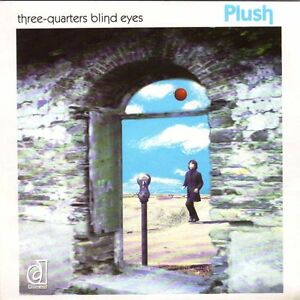 "PLUSH ""THREE-QUARTERS BLIND EYES"" 7"" 45rpm NEW! BRIT POP/INDIE/WAVE"