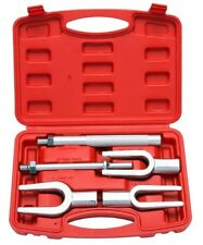 Tie Rod Ball Joint Remover Seperator Kit 5pc Pitman Arm Puller Pickle Fork Tool