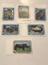 Central Africa #318-323 used Cto Lot 3650