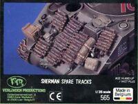 Verlinden 1:35 Sherman Spare Tracks Improvised Add-on Armor Detail Set #565