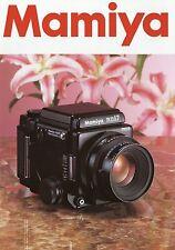 Prospekt Katalog Mamiya RZ67 Pro II 2002 Foto Mittelformat Kamera brochure