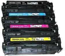 4PK BCYM CP1215 CP1518ni FOR HP 125A CM1312MFP Laserjet Toner Cartridge