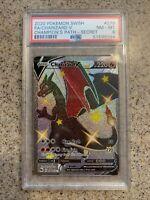 Charizard V Shiny 79 PSA 8 Pokemon Champion's Path Secret Rare