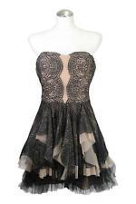 BCBG Max Azria Kleid Damen Gr. 32 Mehrfarbig Minikleid Dress