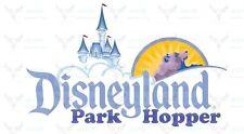 DISNEYLAND 2,3,4,5 day PARK HOPPER MAGIC MORNING TICKET DISCOUNT PROMO