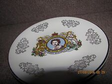 decorative collectable plate to commemorate the Queen's silver jubilee 1977