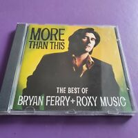 Bryan Ferry - More Than This CD - The Best Of Bryan Ferry & Roxy Music CD Album