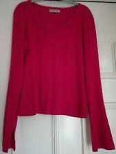 CHEROKEE size 8 Pink long sleeve top