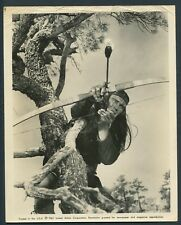 CHUCK CONNORS in Geronimo '62 INDIAN BOW ARROW WESTERN