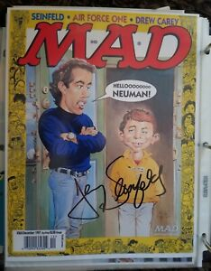 Jerry Seinfeld MAD Magazine Hand Signed In Person 8 X 10 Autographed photo L@@K!