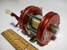 Vintage Abu Ambassadeur No.5000 Baitcasting Reel - Red - Made in Sweden