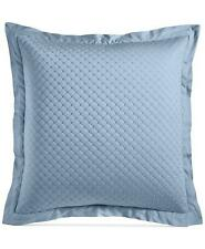 Charter Club Damask Designs Cotton Quilted European Sham Horizon (Sky Blue) $70