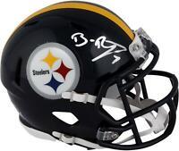 Ben Roethlisberger Pittsburgh Steelers Autographed Riddell Speed Mini Helmet