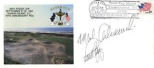 MARK CALCAVECCHIA - COMMEMORATIVE ENVELOPE SIGNED CO-SIGNED BY: PAUL AZINGER