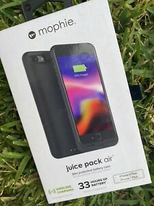 mophie juice pack air 2420mAh Battery Case for iPhone 7/8 Plus - Black