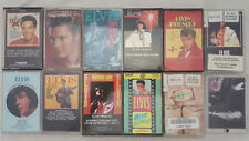 11 Elvis Presley Cassettes Heartbreak PURE Dynamite Hawaii Jailhouse Lost Walk +