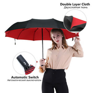 Double layer Windproof Fully-automatic Umbrella Commercial Large Durable Pay3