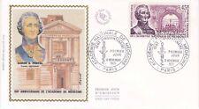 Enveloppe maximum 1er jour FDC Soie 1971 Académie de Médecine de Paris
