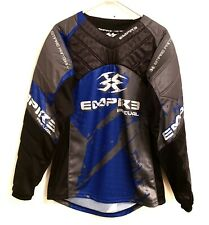 Empire Prevail Padded Paintball Jersey Black Rare Sz M