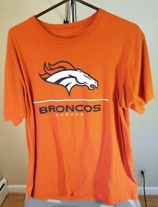 Denver Broncos NFL Classic Orange Peyton Manning #18 XL T-Shirt
