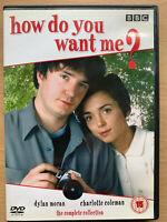 How Do You Want Me DVD Caja Set Completo Temporada 1 y 2 Británico TV Comedia