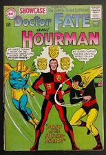 SHOWCASE #56 1965 SWEET FN MINUS DR.FATE,HOURMAN BATTLE THE PSYCHO PIRATE!!