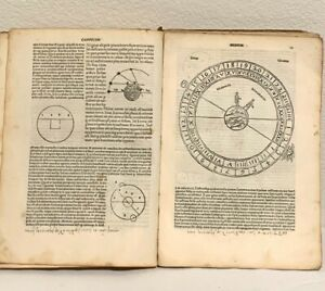 PRINTED 1508 : VERY RARE POST-INCUNABLE REMARKABLY ILLUSTRATED TEXT ON ASTROLOGY