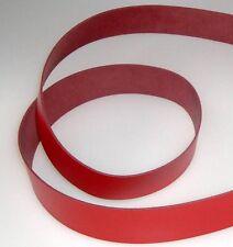 Lederriemen Lederstück Lederhaut Gürtelleder Rot 130,0 x 70,0 cm x 3 mm LWPH