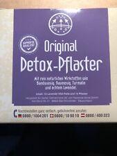 Detox Fußpflaster, zur Entgiftung, Detox Vitalpflaster
