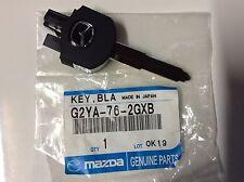 GENUINE NEW MAZDA 606/2005 - 09/2007SEDAN & HATCH  REMOTE FlLIP KEY BLANK