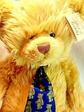 """Mulberry Bush Collection RBI After 5 Teddy Bear BIG 23"""" Plush Blonde Tan + Shoes"""
