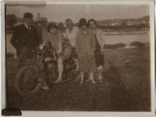 PHOTO ANCIENNE - VINTAGE SNAPSHOT - MOTOCYCLETTE MOTO - MOTORCYCLE 2