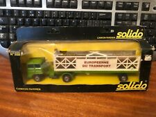 Solido Trucks No.338 Camion Fardier Log Transport - Boxed