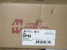 Hammond MPB6 Pushbutton Enclosure, New