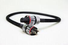 Audiophile PCOCC High-Current Power Cord - RAMM Audio - 1 meter NEMA/IEC Plugs