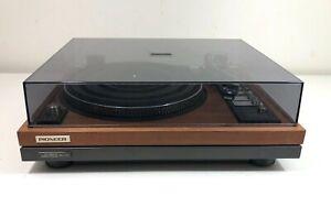 Pioneer PL-71 Stereo Turntable w/Shure Super Track Plus V15 III Cartridge
